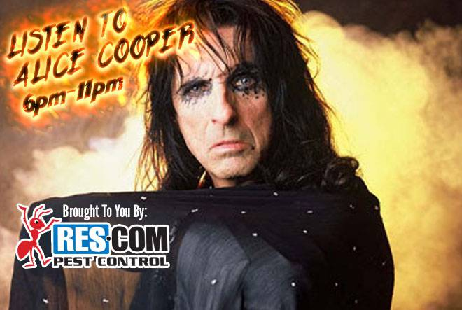 Alice Cooper on 997 Classic Rock