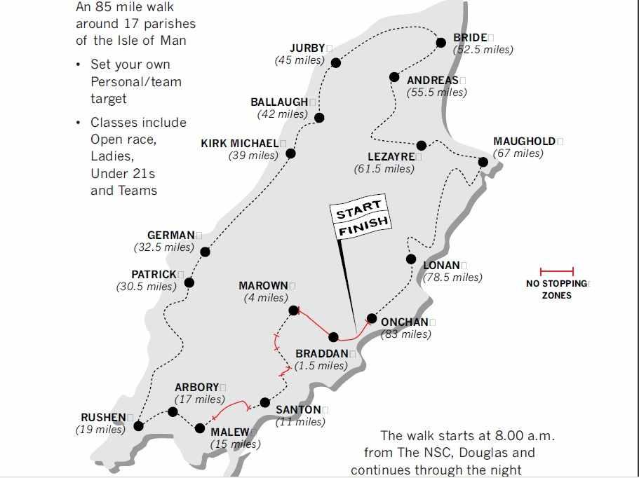 Parish Walk Deadline Looms Isle Of Man News News 3fm