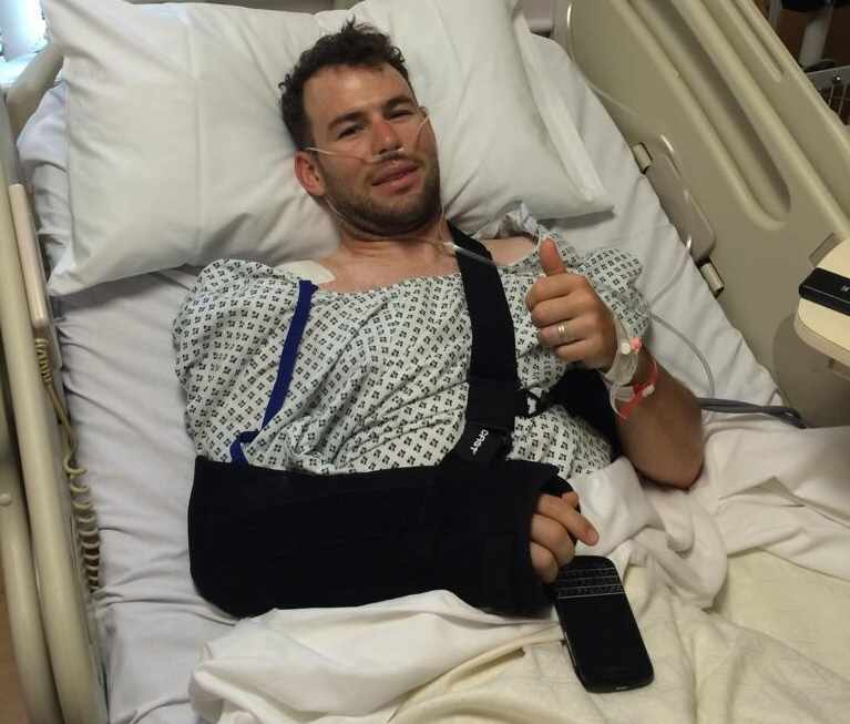 Cavendish Posts Picture From Hospital Bed   3FM Isle Of Man